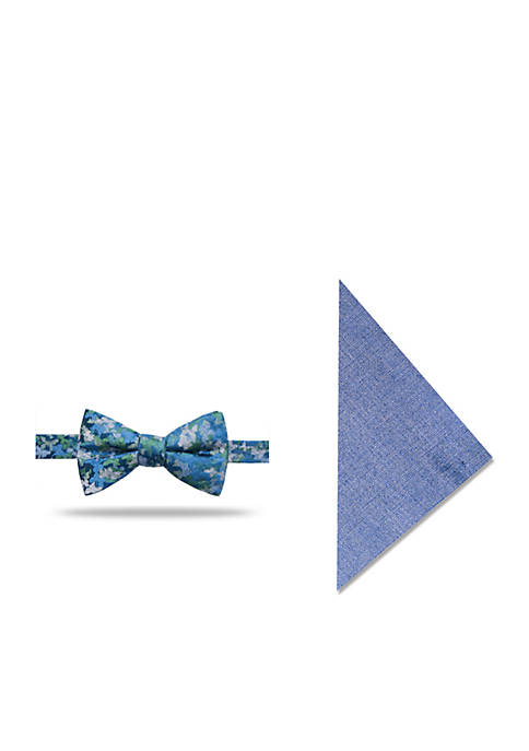 Crown & Ivy™ Abstract Floral Bow Tie Set