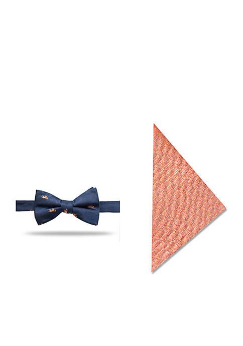 Crown & Ivy™ Lion Novelty Bow Tie Set
