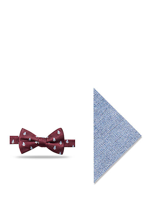 Crown & Ivy™ Cassian Boat Bow Tie and