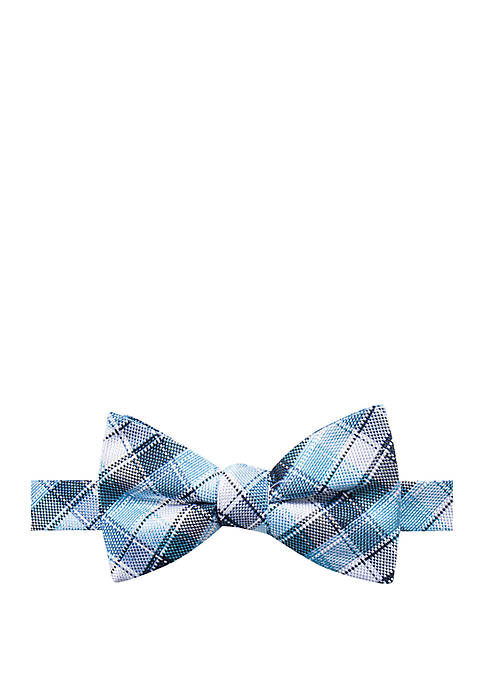 Crown & Ivy™ Drake Check Bow Tie and