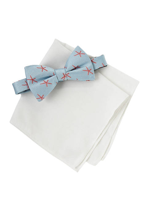 Crown & Ivy™ Starfish Bow Tie and Solid