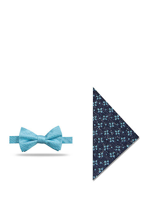 Crown & Ivy™ Mitcham Neat Bow Tie and