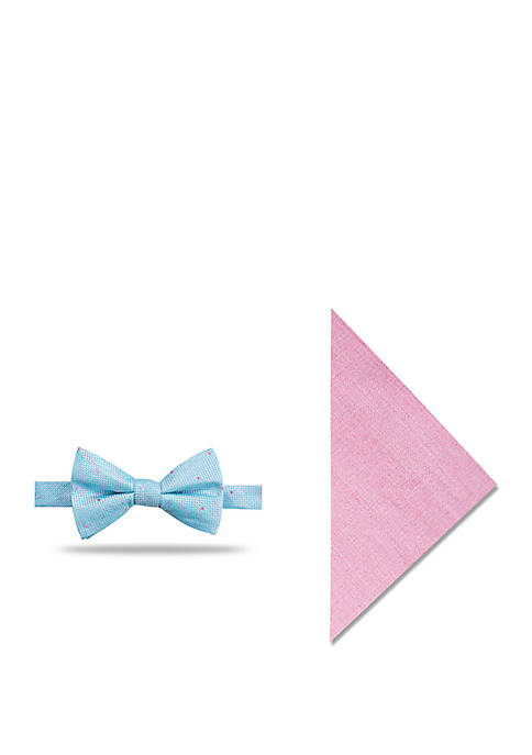 Crown & Ivy™ Barnes Dot Bow Tie and