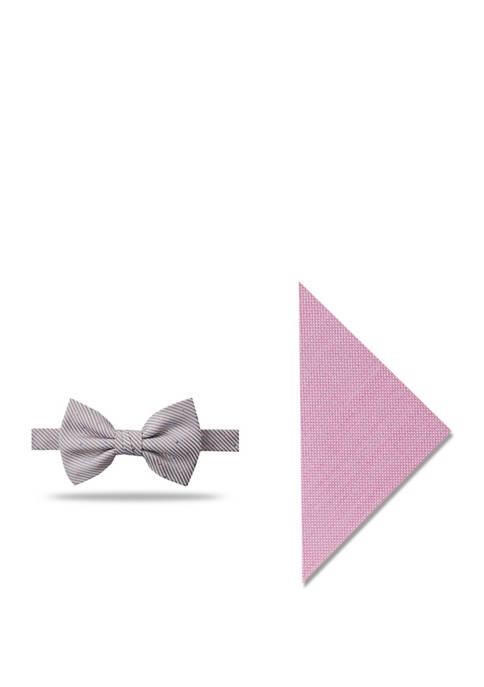Crown & Ivy™ Mens Caroline Dot Bow Tie