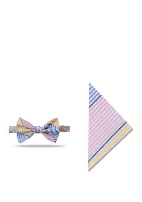 Crown & Ivy™ Chloe Stripe Bow Tie and