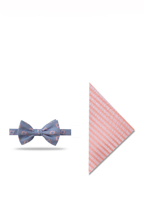 Crown & Ivy™ Calypso Geo Bow Tie and