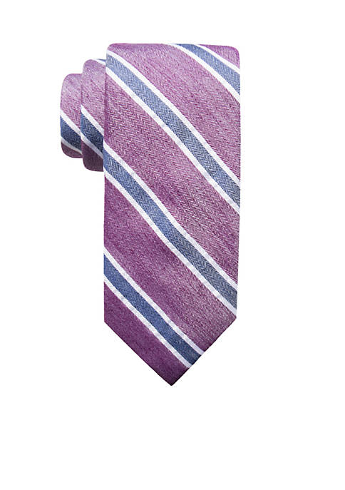 Crown & Ivy™ Corner Stripe Tie