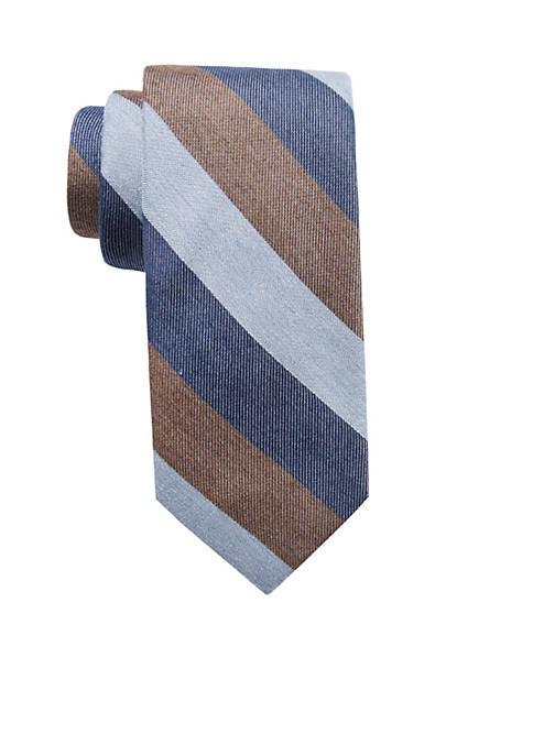 Crown & Ivy™ Canary Stripe Tie