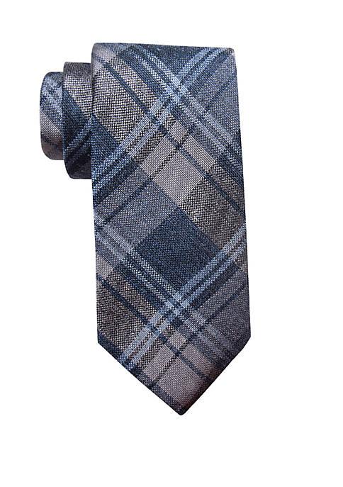 Bingham Plaid Necktie