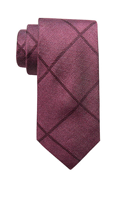 Crown & Ivy™ Bowie Grid Necktie