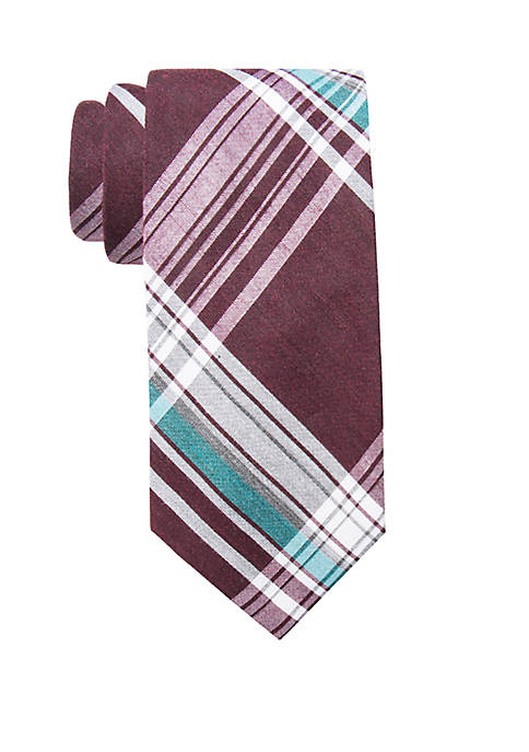 Crown & Ivy™ Delano Plaid Tie