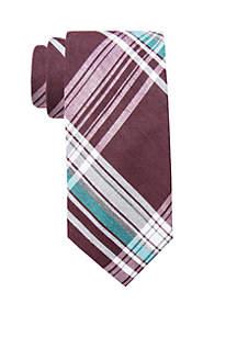 Delano Plaid Tie