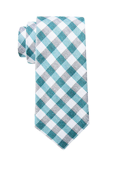 Crown & Ivy™ Pascal Gingham Tie