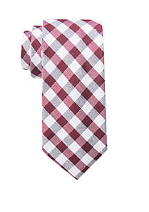 Pascal Gingham Tie