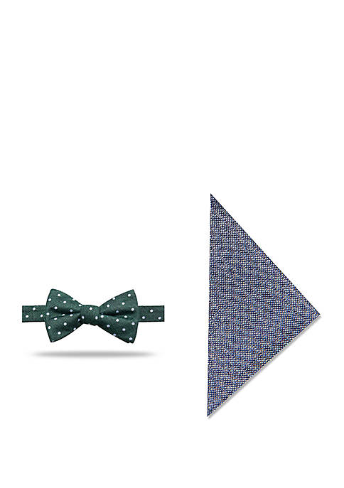 Crown & Ivy™ Cassius Dot Print Bow Tie