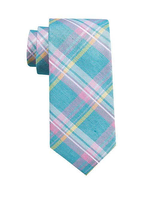 Chandler Plaid Tie