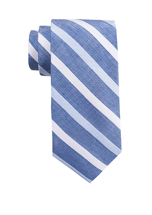 Crown & Ivy™ Cardiff Stripe Tie