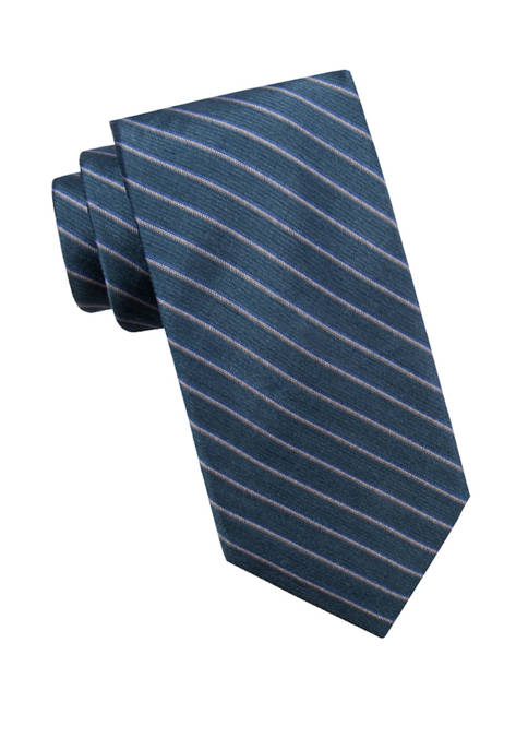 Crown & Ivy™ Mens Slater Stripe Necktie