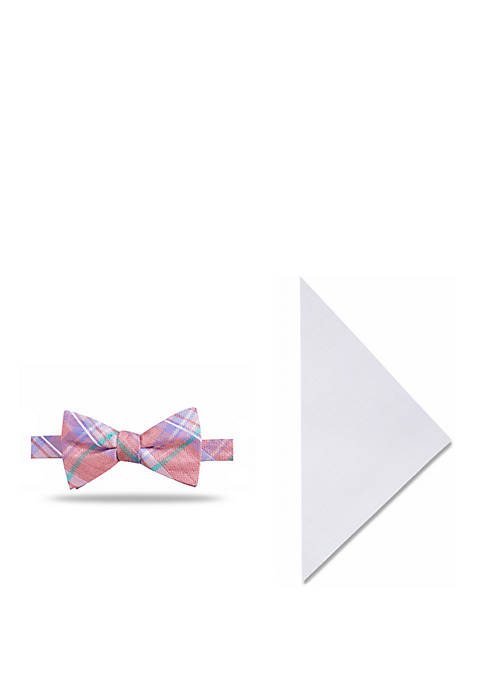 Crown & Ivy™ Chandler Plaid Bow Tie and