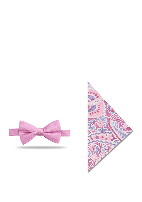 Crown & Ivy™ Irrigon Paisley Bow Tie and