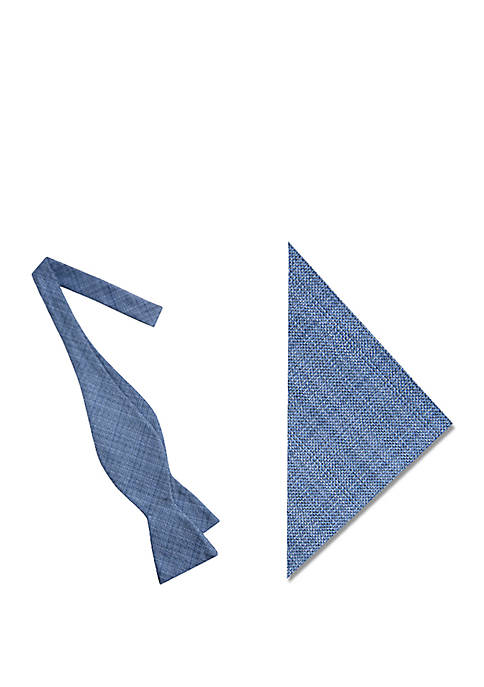 Crown & Ivy™ Monmouth Solid Bow Tie and
