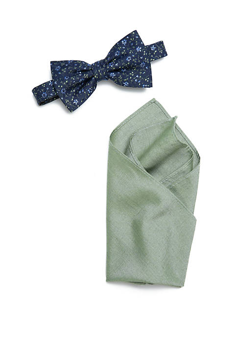 Crown & Ivy™ Piper Floral Bow Tie and