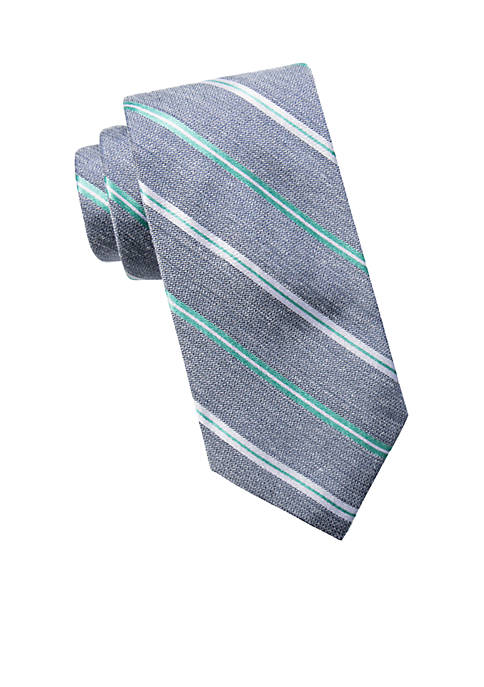 Crown & Ivy™ Newton Stripe Neck Tie