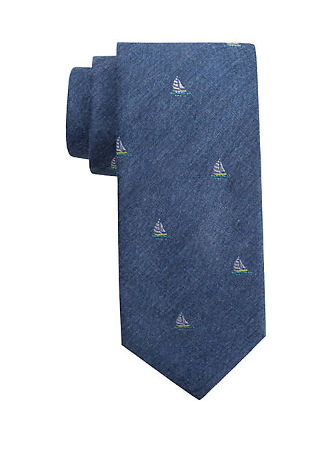 Crown & Ivy™ Cape Sailboat Tie