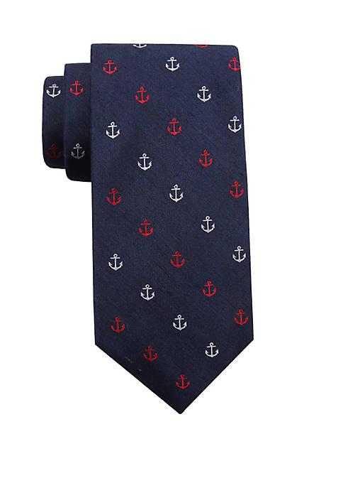 Crown & Ivy™ Prescott Anchor Necktie
