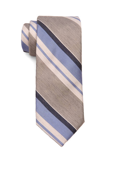 Crown & Ivy™ Extra Long Beau Stripe Tie