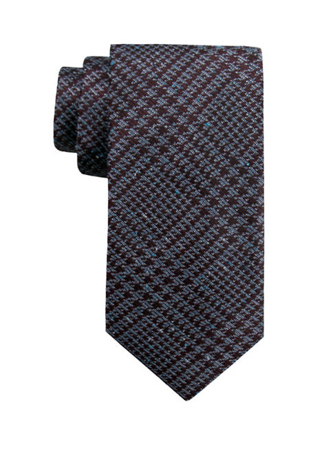 Crown & Ivy™ Mens Perth Houndstooth Necktie