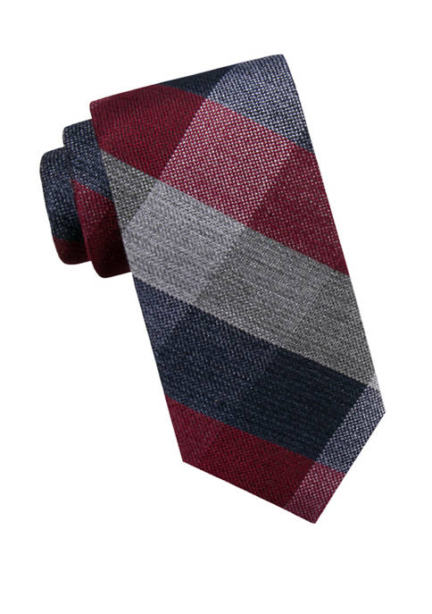 Crown & Ivy™ Mens Jolene Check Necktie