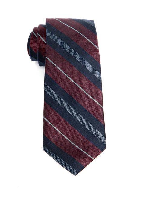 Mens Stripe Tie