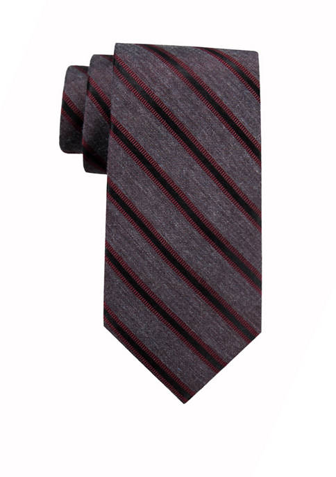 Crown & Ivy™ Jax Stripe Tie