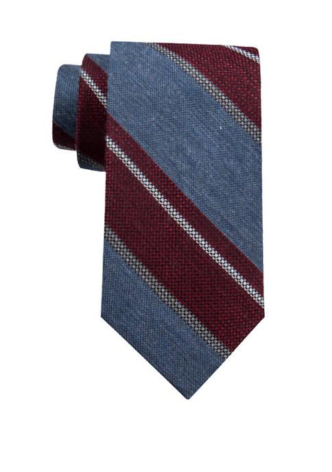 Mens Orion Stripe Necktie