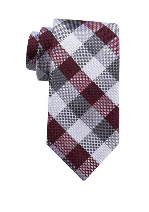 Crown & Ivy™ Topher Check Tie