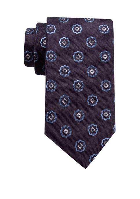 Crown & Ivy™ Mens Zane Medallion Necktie