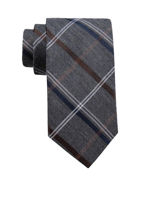 Quinton Plaid Tie