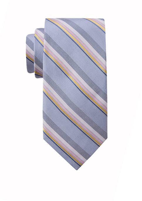 Mens Clara Stripe Necktie