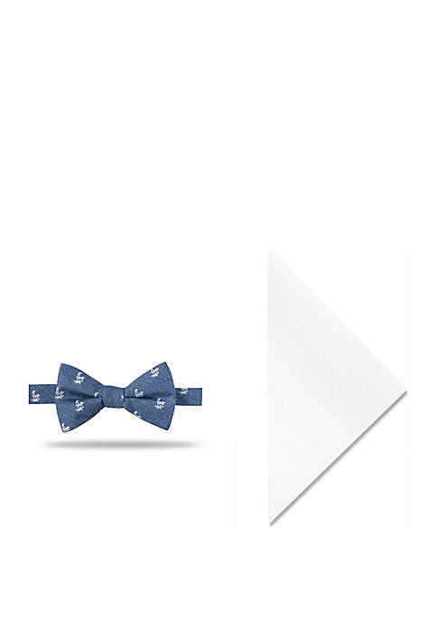 Crown & Ivy™ Colton Palms Bow Tie and