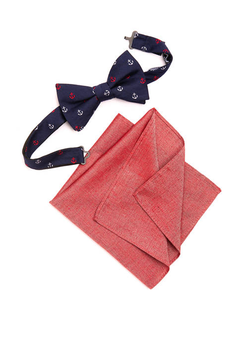 Crown & Ivy™ Prescott Anchor Bow Tie Pocket