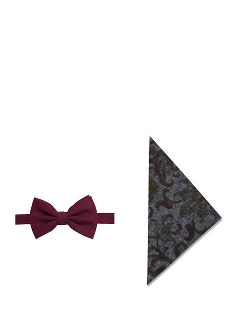 Crown & Ivy™ Mens Charlene Solid Bow Tie