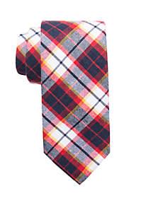 Bud Plaid Necktie