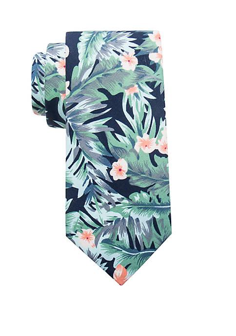 Peyton Floral Tie