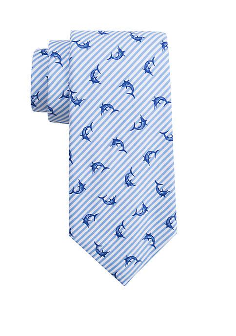 Crown & Ivy™ Swordfish Stripe Tie