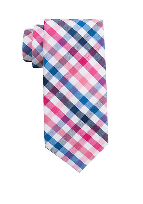 Sea Elk Check Tie