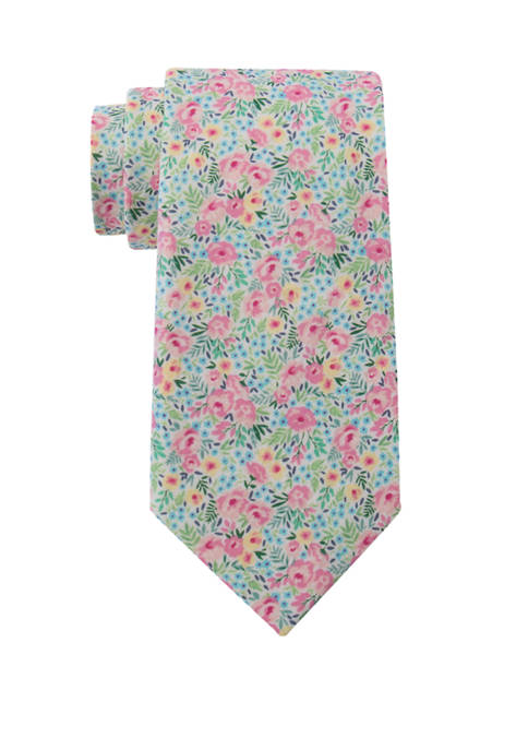 Crown & Ivy™ Charlize Peony Floral Tie