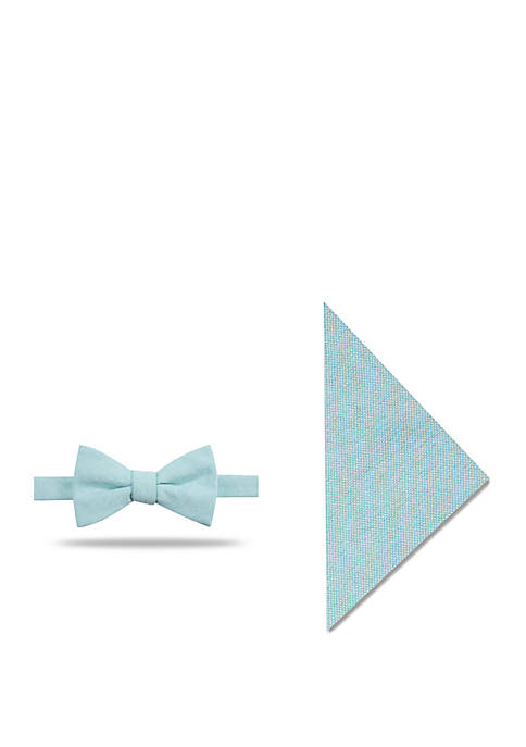 Crown & Ivy™ Edmond Solid Bow Tie and