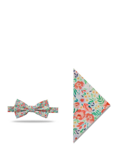 Crown & Ivy™ Charlize Peony Bow Tie and