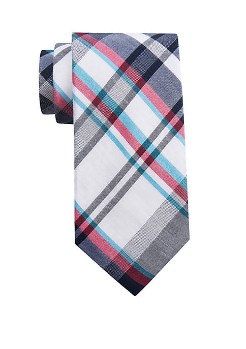 Crown & Ivy™ Bellworth Plaid Tie